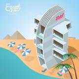 Egypt red sea resort Stock Photos
