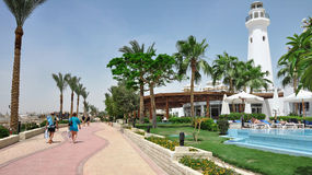 Egypt resort area of Sharm El Sheikh Royalty Free Stock Photos