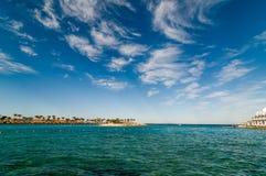 Egypt resort beach Stock Photo