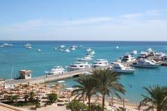 Egypt. A resort Hurgada. Stock Photo