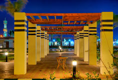 Egypt resort night hdr Royalty Free Stock Image