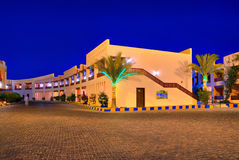 Egypt resort night hdr Royalty Free Stock Photo