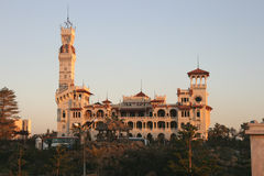 Egypt's Alexandria. Is one of the world's most beautiful port, which face the beautiful Mediterranean Royalty Free Stock Images
