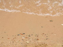 Egypt's Beaches. Egypt's sandy beach during summer vacation royalty free stock photo