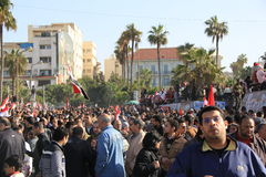 Egypt's Protests Stock Images