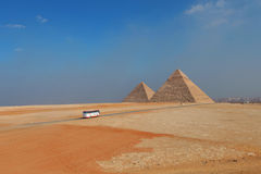 Egypt's Pyramid. The Great Pyramid of Khufu Stock Photography
