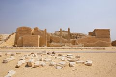 Egypt - saqqara Stock Photo