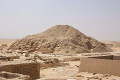 Egypt - saqqara Royalty Free Stock Image