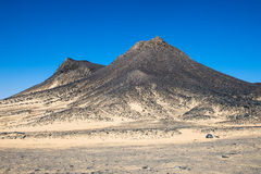 Egypt Schwarze Wüste stockbilder