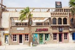 Egypt Sharm el sheikh restaurant pub Stock Image