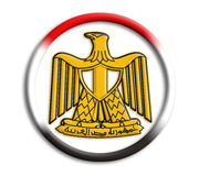 Egypt shield for olympics. On white background Stock Photography