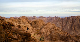 Egypt, Sinai Mountains Royalty Free Stock Photography