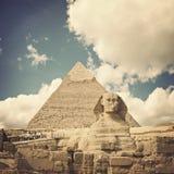 egypt sphinx Arkivbilder