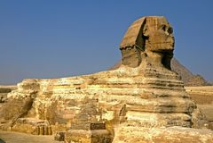 egypt sphinx Arkivbild