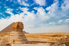 egypt sphinx Royaltyfri Bild