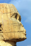 Egypt sphinx face Stock Image