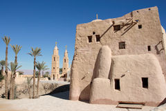 Egypt, St. Antony's Christian Coptic Monastery. Stock Photos
