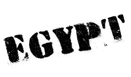 Egypt stamp rubber grunge Royalty Free Stock Image