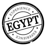 Egypt stamp rubber grunge Stock Photos