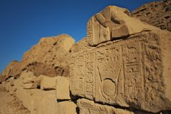 Egypt stone Royalty Free Stock Photography