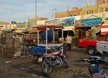 Egypt Street Market Scene Stock Images