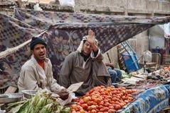 Egypt Street Market Scene Royalty Free Stock Images