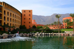 Egypt, Taba, Intercontinental Taba Heights Resort 5 *. Salt lake Stock Images