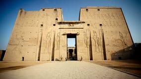 egypt tempel Royaltyfri Fotografi