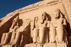 egypt tempel Royaltyfria Bilder