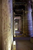 egypt tempel Arkivfoto
