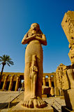 Egypt Temple of Karnak-Ramses 2nd Royalty Free Stock Photography