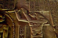 Egypt Temple of Kom Ombo Royalty Free Stock Photo