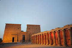 Egypt Temple of Philae Royalty Free Stock Image