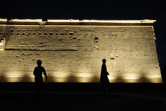Egypt Temple of Philae Stock Photography