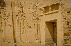 Egypt Templo de Philae, templo do Isis foto de stock