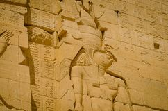 Egypt Templo de Philae, templo do Isis fotos de stock