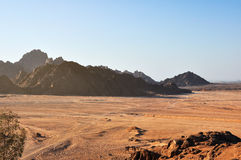 Free Egypt, The Mountains Of The Sinai Desert Stock Images - 37161684