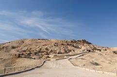 egypt thebes royaltyfria foton