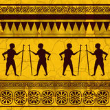 Egypt theme (Seamless texture) Royalty Free Stock Image