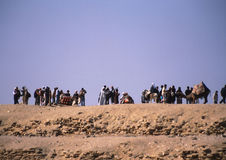 Egypt tourists Stock Images