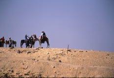 Egypt tourists Stock Image