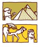 Egypt & travel stock illustration