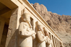 Egypt, Western Thebes, Royalty Free Stock Photos