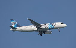 Egyptair Airbus A320-200 Royalty Free Stock Photo