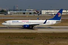 EgyptAir Boeing 737-800 Στοκ Φωτογραφίες