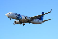 EgyptAir Boeing 737 Royalty Free Stock Photos