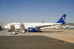 Egyptair samolot Fotografia Royalty Free
