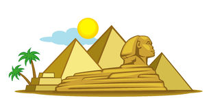 Egypte stock illustratie