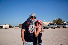 In Egypte Stock Afbeeldingen