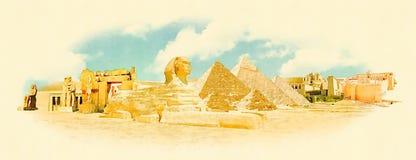 Egypte Royalty-vrije Illustratie